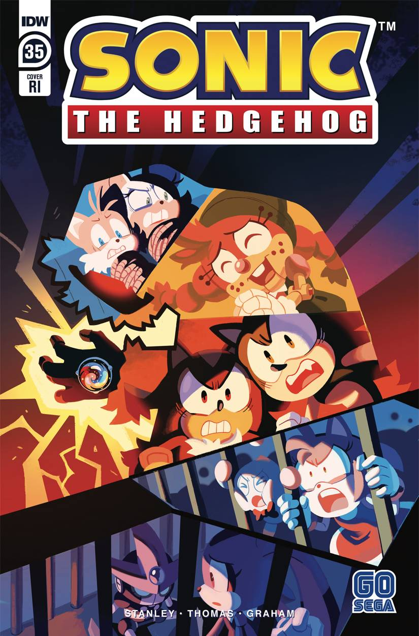 Sonic The Hedgehog #35 RI