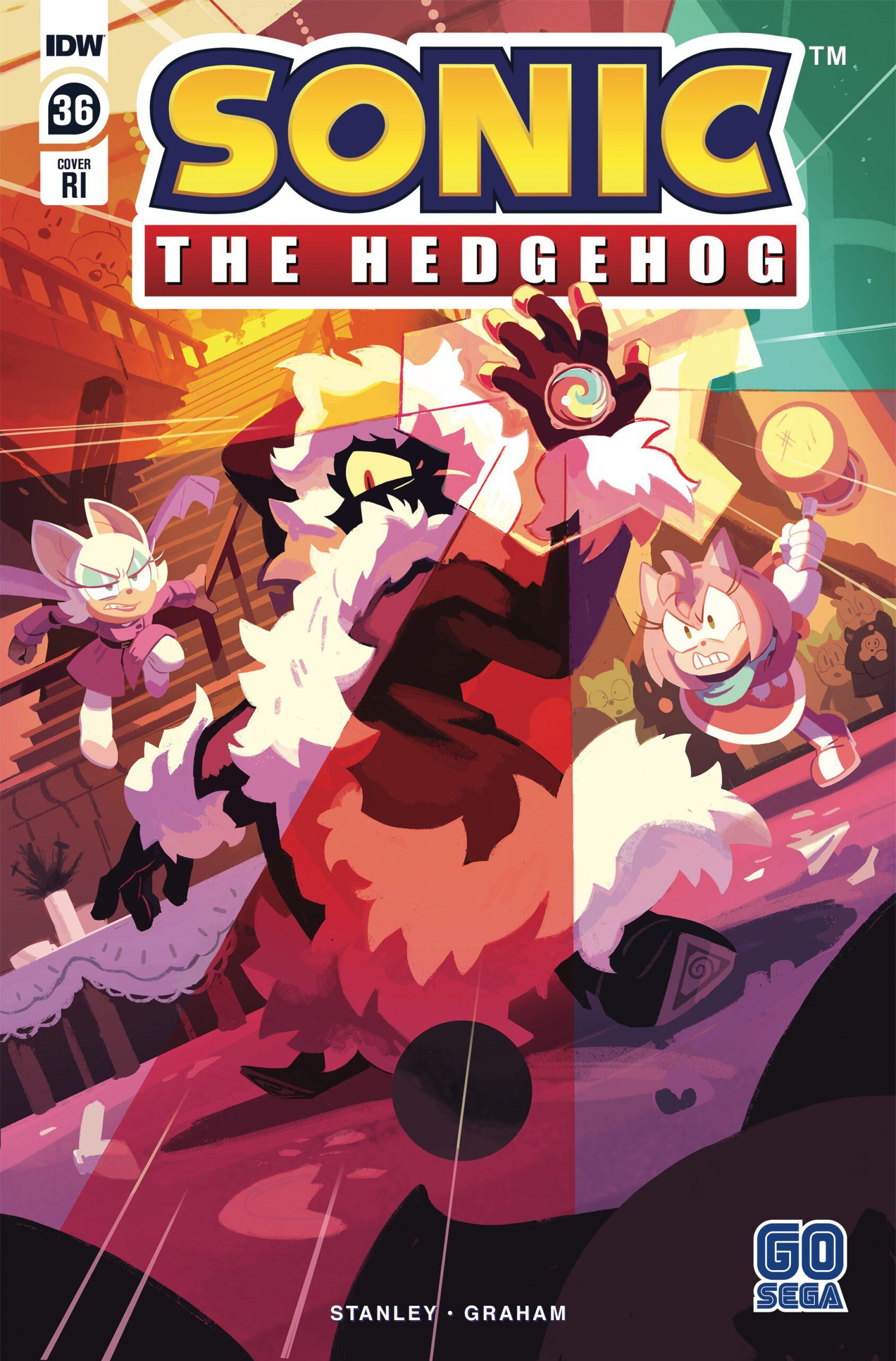 Sonic The Hedgehog #36 RI