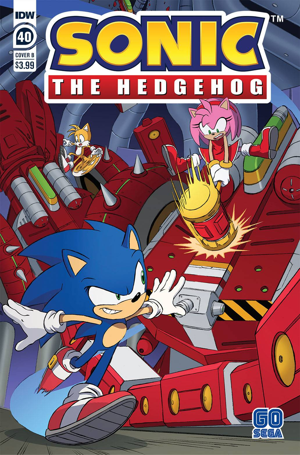 Sonic The Hedgehog #40