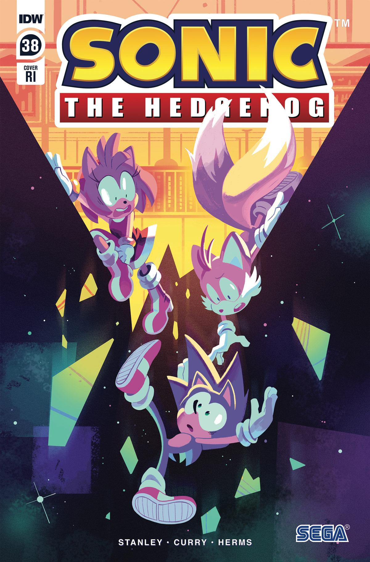 Sonic The Hedgehog #38 RI