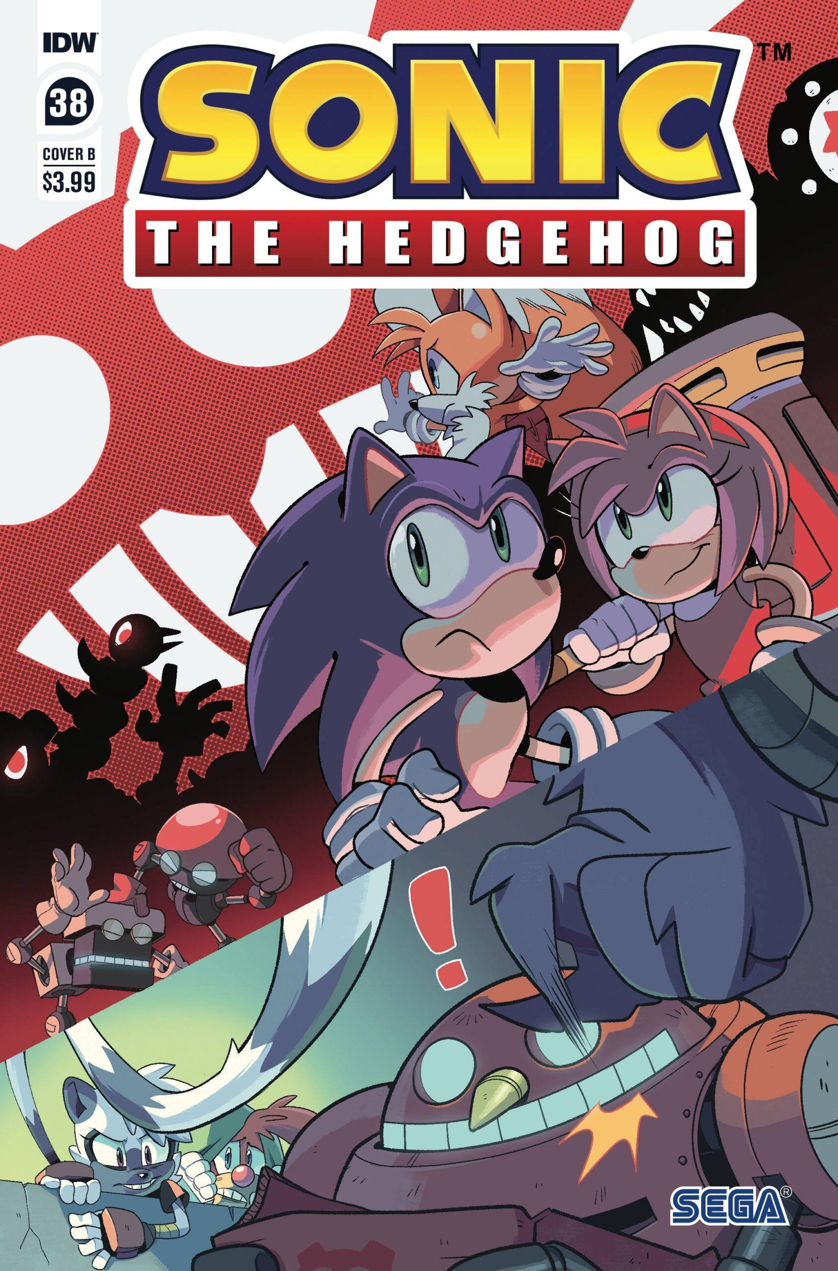Sonic The Hedgehog #38 Cover B