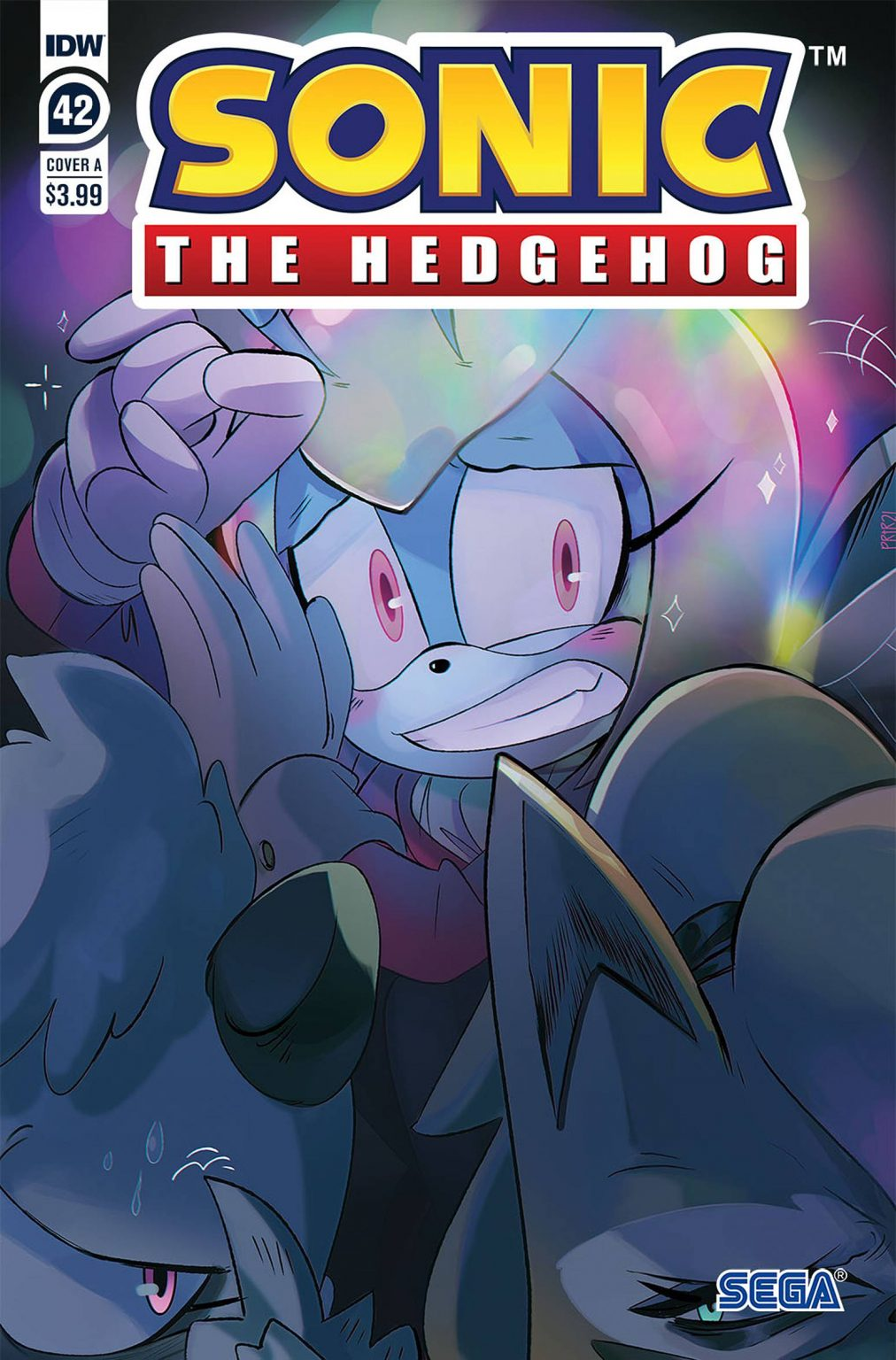 Sonic The Hedgehog #42 Cover A