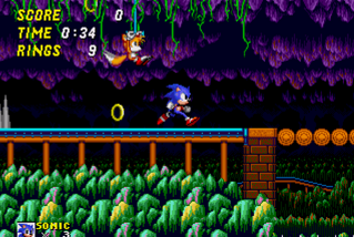 Sonic the Hedgehog 2 Image Mystic Cave