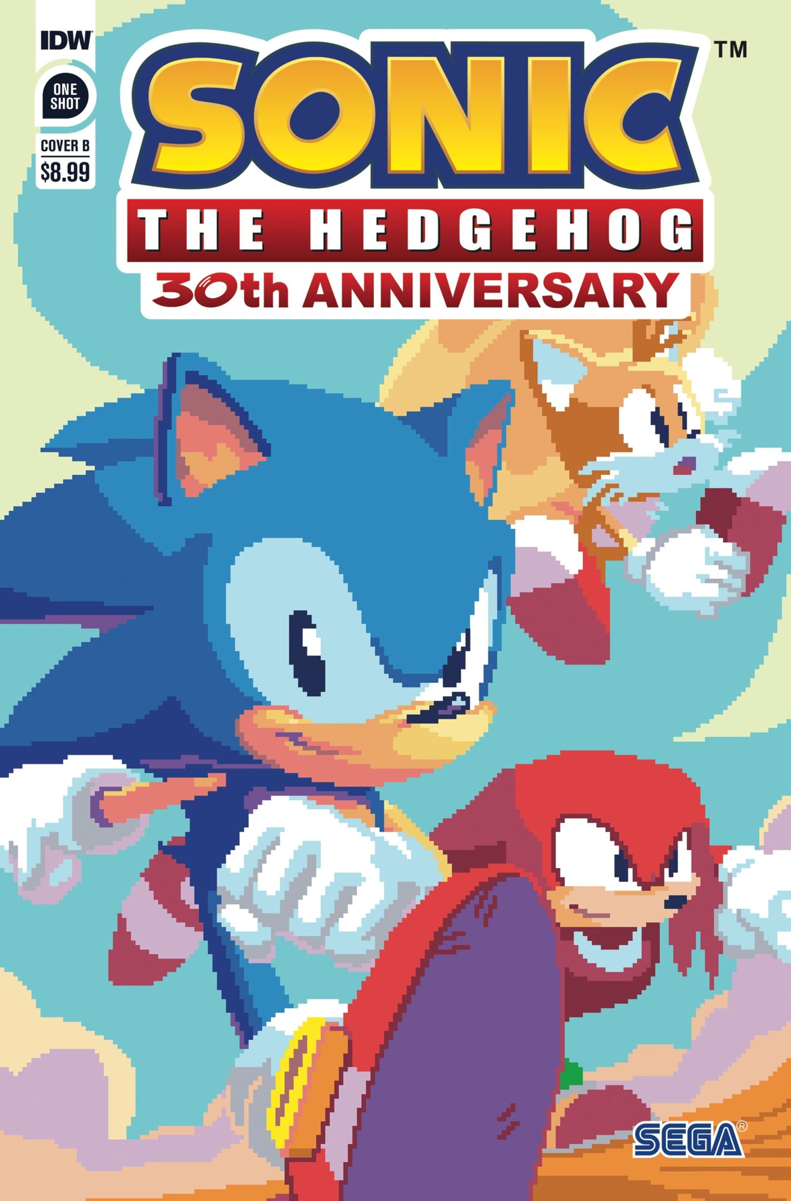 Sonic the Hedgehog: 30th Anniversary Special Cover B