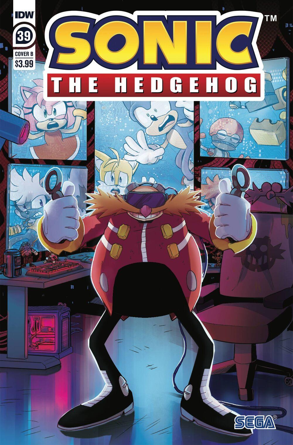 Sonic The Hedgehog #39 Cover B