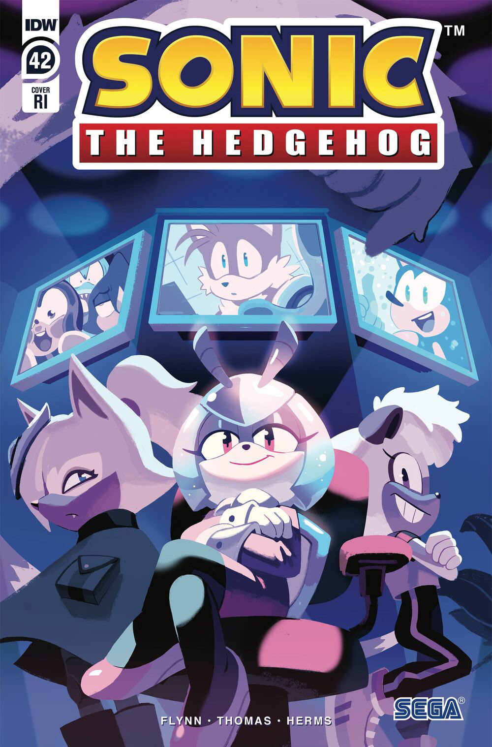 Sonic The Hedgehog #42 RI