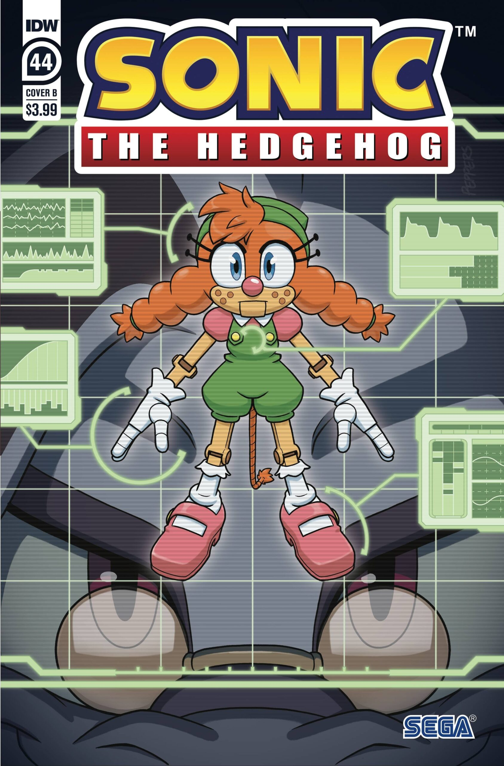 Sonic The Hedgehog #44 Cover B