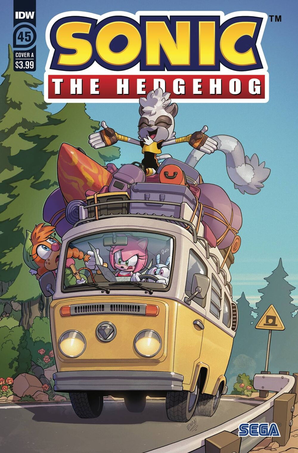 Sonic The Hedgehog #45 Cover A