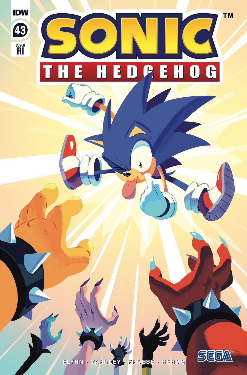 Sonic The Hedgehog #43 RI