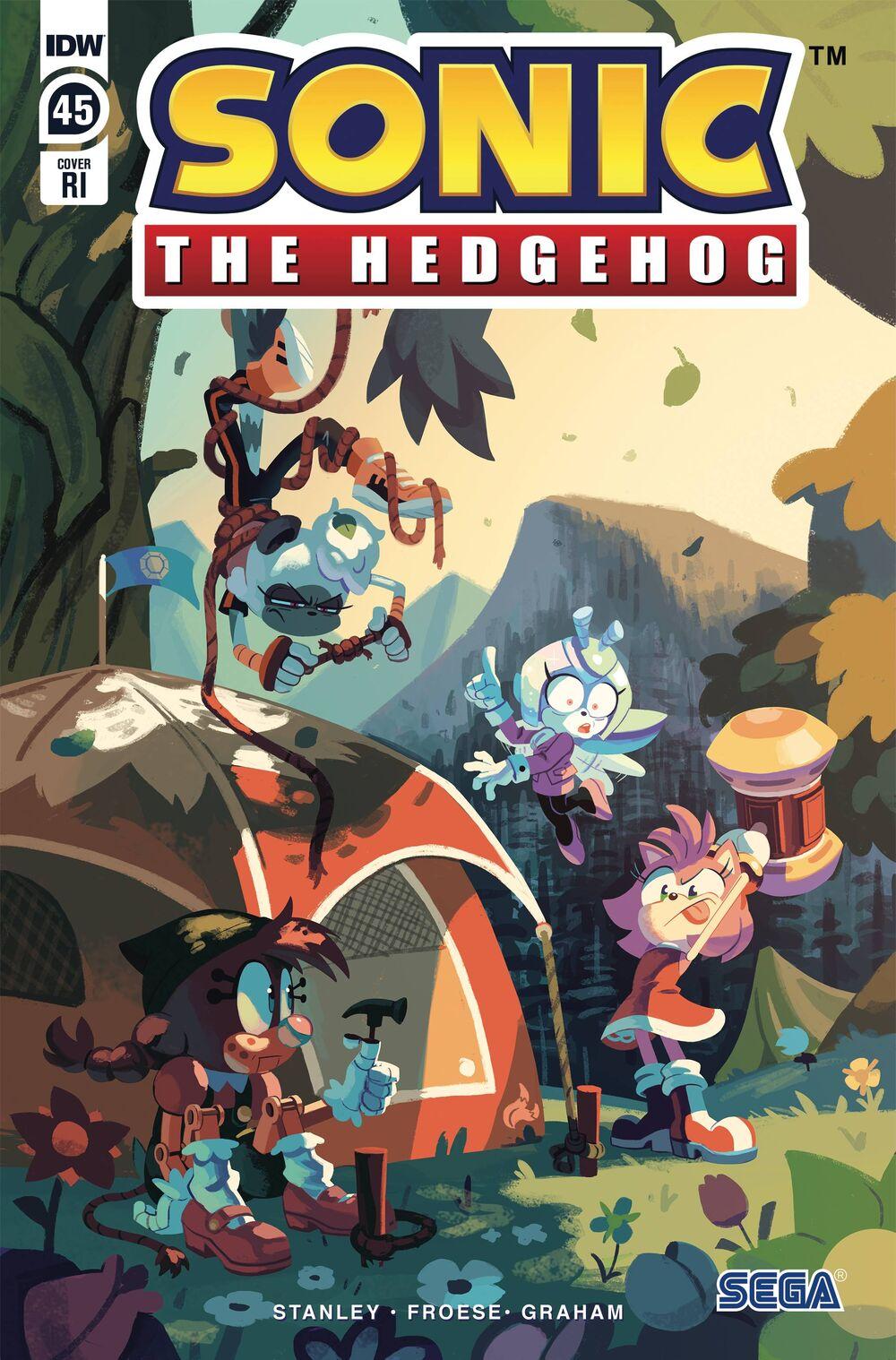 Sonic The Hedgehog #45 RI